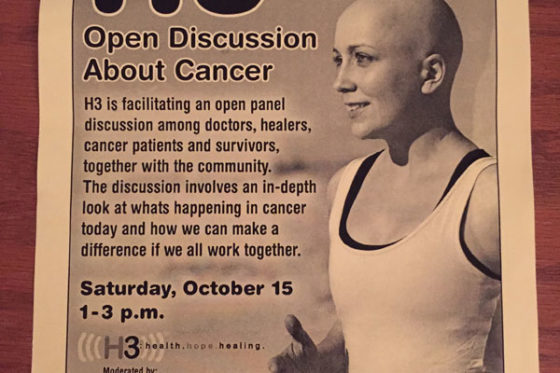 H3 Open Panel Discussion about Cancer